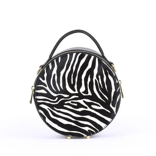 CELINE FUR - BLACK ZEBRAED