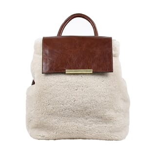 GIGLIOLA FUR - LIGHT BROWN SHEARLING